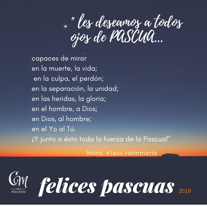 Felices Pascuas 2019